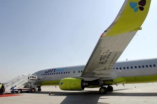航班正式首航,载有160名中国乘客的飞机从银川河东
