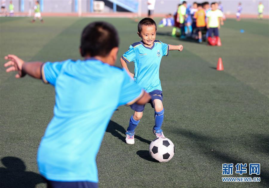 (新華視界)(1)寧夏銀川:快樂足球 樂享暑假