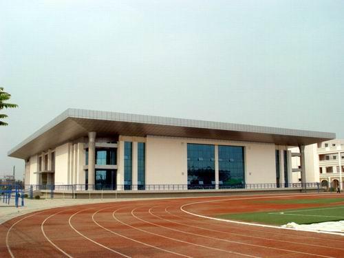 银川一中体育馆,体育场