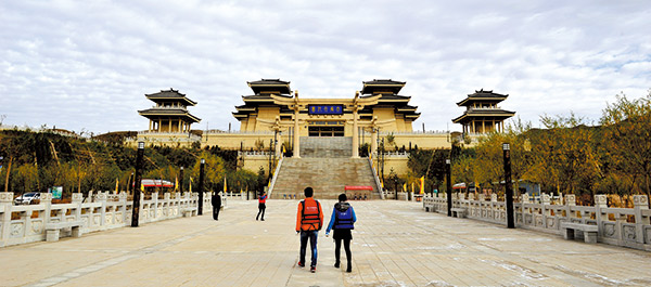 青铜峡市大禹文化园向游人开放