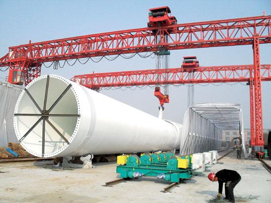 风力发电设备  1.0mw风电增速机图 1.5mw风电增速机图 2.
