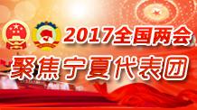 2017全國兩會聚焦寧夏代表團
