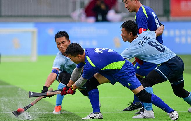 民族運動會決賽:寧夏隊獲一等獎