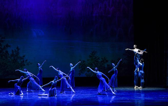 廣州芭蕾舞團首次在寧夏公演