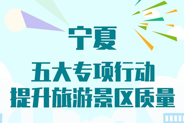 寧夏:五大專項行動提升旅遊景區質量