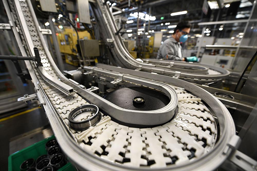 寧夏銀川:經開區規上企業全部復工復産