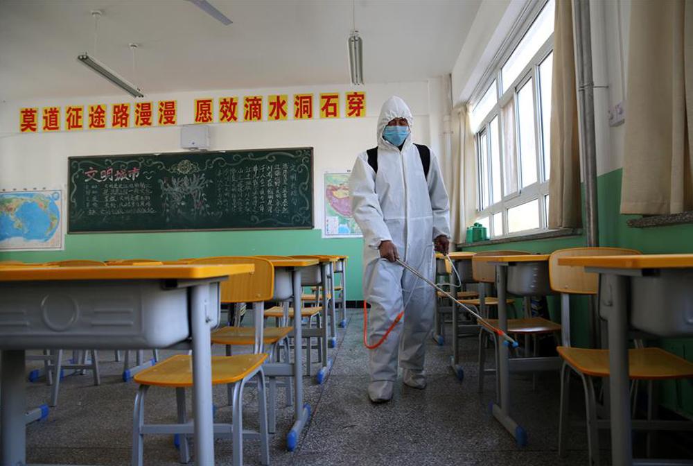 寧夏銀川:為高三和初三年級學生恢復正常教學做準備