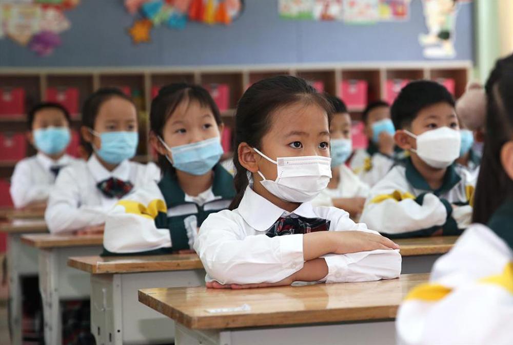 寧夏銀川:小學低年級學生開學復課