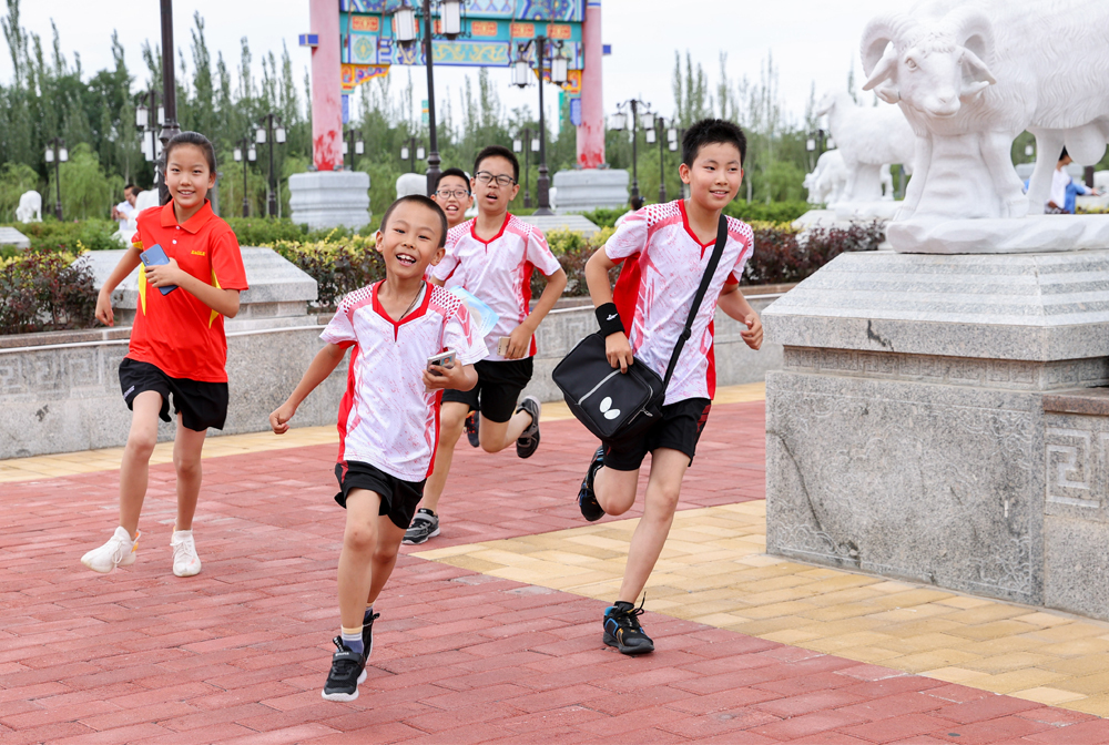 寧夏鹽池:城市定向 樂享暑假