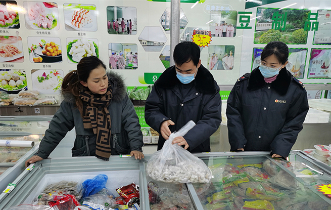 靈武市:嚴管冷鏈食品強化疫情防控